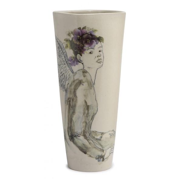 """Akmens Masės Vaza Iš Kolekcijos """"Rugpjūčio Moterys"""""""