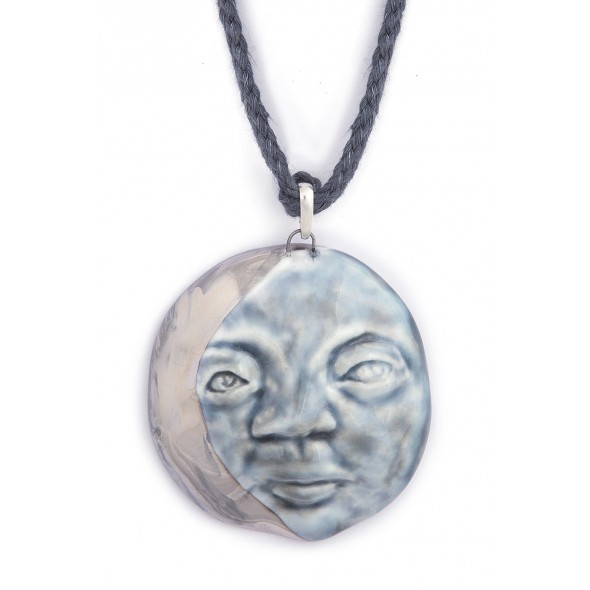 Ajustable Full Moon Necklace