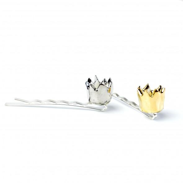 Segtukas karūna, Aukso karūna iš porceliano, tikroms karalienėms ir karalaitėms