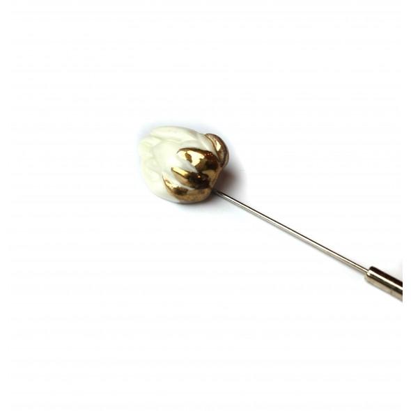 Sagė - smeigtukas Lotosas iš kolekcijos flora